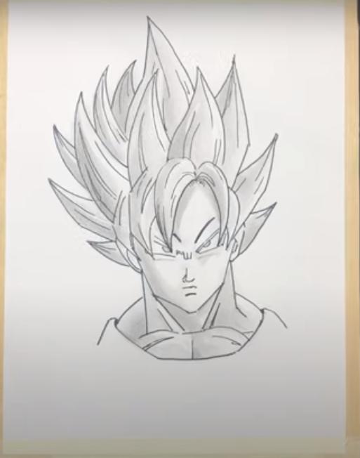 How To Draw a Goku