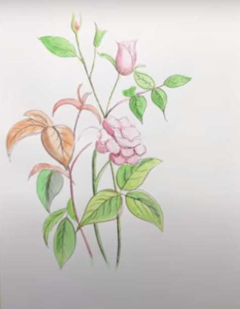 to draw a Flower