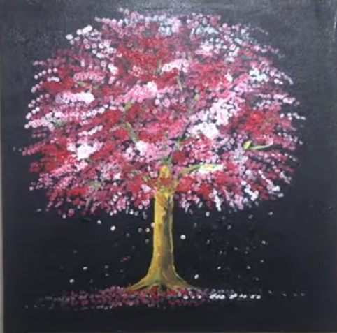Draw a Tree on a Canvas