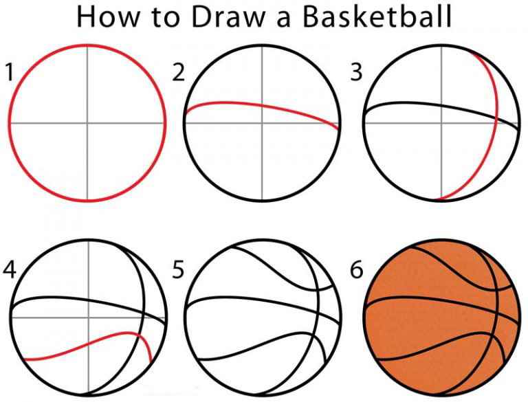 Draw a Basketball