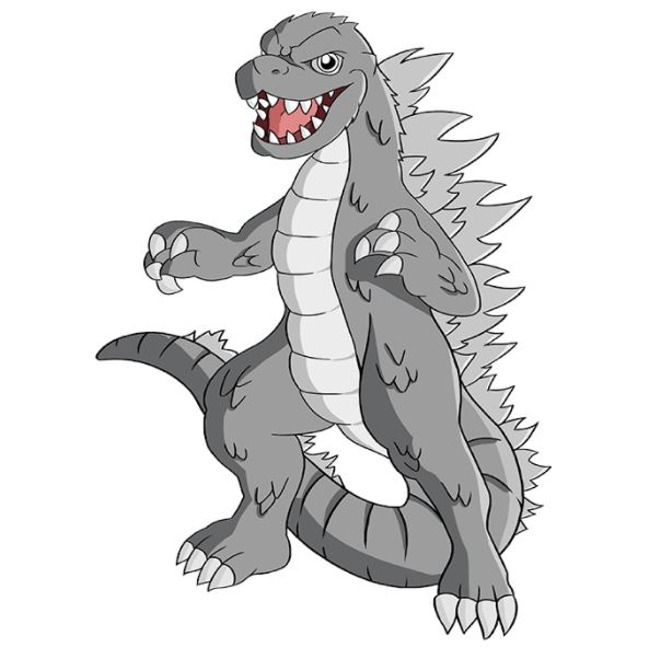 How to Draw Godzilla