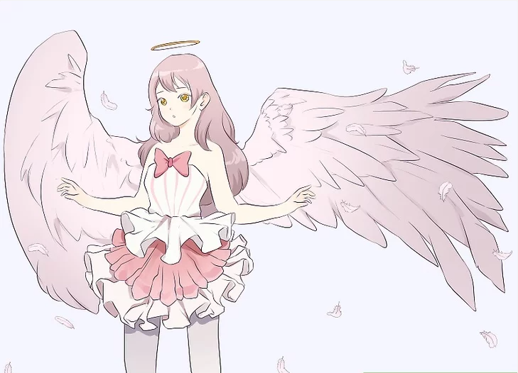 How to Draw an Anime Angel
