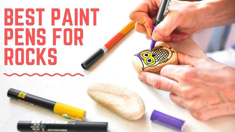 Best Pens for Drawing on Rocks