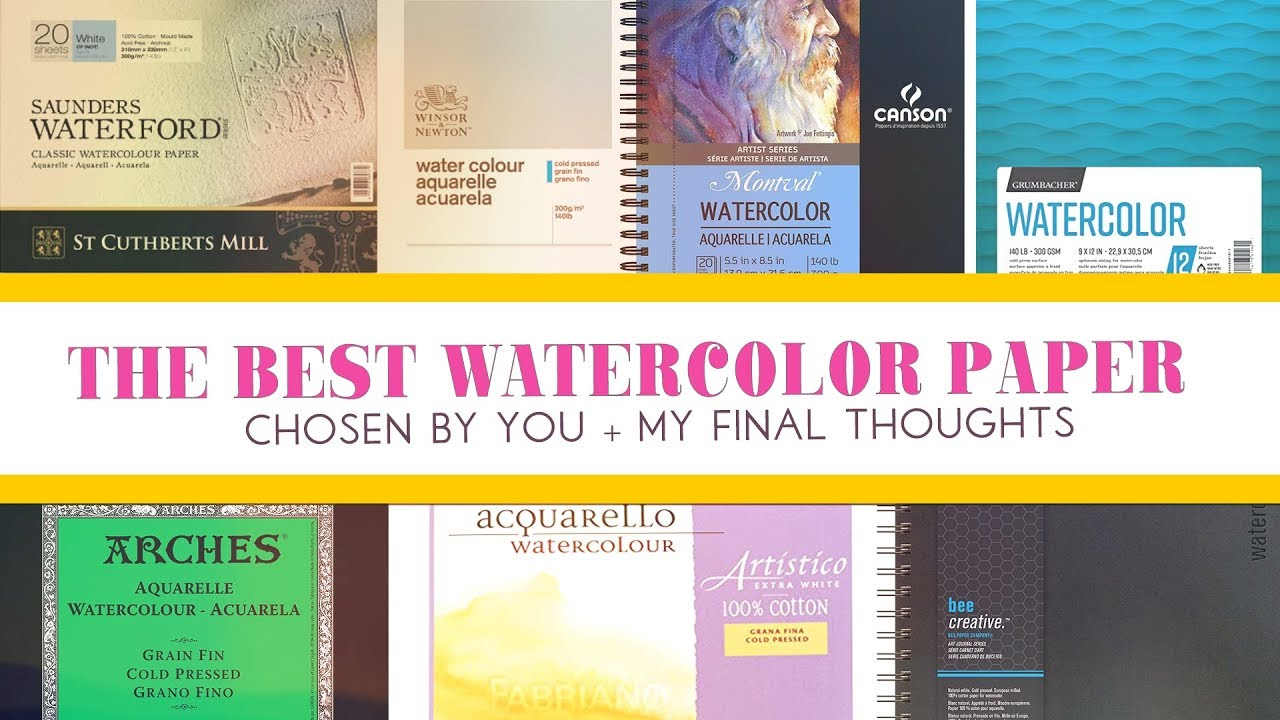 Best Watercolor Pads for Artists